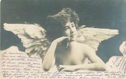 Fillette Ange Nue   N 2621 - Angels