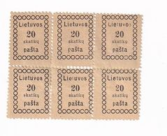 Lithuania Post Stamps - Lithuania