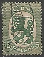 FINLANDE / REPUBLIQUE N° 66 OBLITERE - Finland