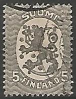 FINLANDE / REPUBLIQUE N° 67 OBLITERE - Finland