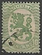 FINLANDE / REPUBLIQUE N° 69 OBLITERE - Finland