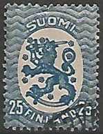 FINLANDE / REPUBLIQUE N° 72 OBLITERE - Finland