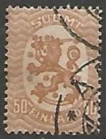 FINLANDE / REPUBLIQUE N° 75 OBLITERE - Finland