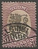 FINLANDE / REPUBLIQUE N° 80 OBLITERE - Finland