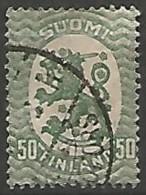 FINLANDE / REPUBLIQUE N° 103 OBLITERE - Finland
