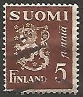 FINLANDE / REPUBLIQUE N° 141 OBLITERE - Finland