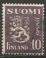 FINLANDE / REPUBLIQUE N° 142 OBLITERE - Finland