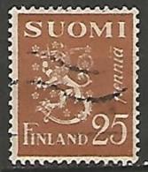 FINLANDE / REPUBLIQUE N° 144 OBLITERE - Finland