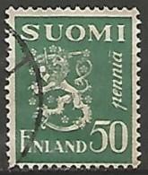 FINLANDE / REPUBLIQUE N° 146A OBLITERE - Finland