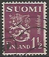 FINLANDE / REPUBLIQUE N° 150 OBLITERE - Finland