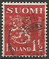 FINLANDE / REPUBLIQUE N° 150A OBLITERE - Finland