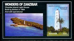 GP0402 Tanzania 2011 World Heritage Lighthouse Monument M MNH - Tanzania (1964-...)