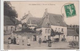 CULAN UN COIN DU FAUBOURG 1912 TBE - Culan