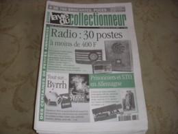 LVC VIE Du COLLECTIONNEUR 363 20.04.2001 PRISONNIER Et STO BYRRH RADIO TSF - Collectors