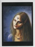 La Madone - Sandrine Gestin Illustrateur (huile Sur Toile) Arts Tableaux - 2 Scan - Fairy Tales, Popular Stories & Legends