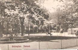 Ics1019 Finlanda Helsinki Helsingfors The Esplanade Of The Chapel Old Postcard - Finland