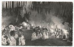 TAHITI FETE DU 14 JUILLET PAPEETE CARTE + TIMBRE 9FR+7FR 1960 - Französisch-Polynesien