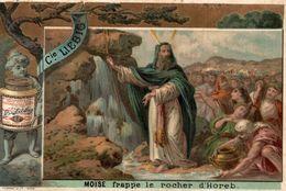 Chromo Extrait De Viande Liebig. S 160. Moise Bible. 1883. - Liebig