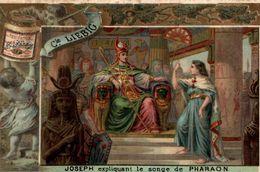 Chromo LIEBIG  JOSEPH EXPLIQUANT LE SONGE DE PHARAON - Liebig