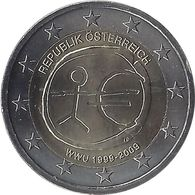 2E199 - AUTRICHE - 2 Euros Commémorative - EMU 2009 - Autriche