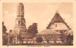 6453  BANGKOK  WAT RAKANG PAGODA  21-0925 - Postkaarten