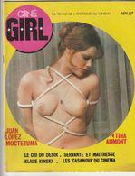 Rare Revue Ciné Girl N°1 Spécial Tina Aumont La Revue De L'érotisme Au Cinéma  1977 PAGES 47 - Erotic (...-1960)