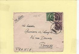 Devant De Lettre Décembre 1936 Shanghai Pour La France VIA SIBERIE - 1912-1949 Republic