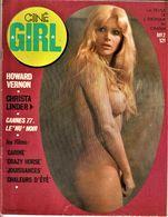 Rare Revue Ciné Girl N°2 Christa Linder La Revue De L'érotisme Au Cinéma  1977 PAGES 47 - Erotic (...-1960)