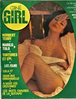 Rare Revue Ciné Girl N°3 Marilu Tolo La Revue De L'érotisme Au Cinéma  1977 PAGES 47 - Erotic (...-1960)