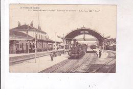 CPA DPT 25 MONTBELIARD, INTERIEUR DE LA GARE En 1918! - Montbéliard