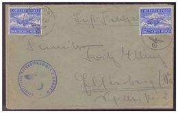 Dt- Reich (007463) Luft- Feldpostbrief, Luftwaffe Jäger Regiment 9, Gelaufen 21.6.1943 - Covers & Documents