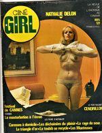 Rare Revue Ciné Girl N°5 Nathalie Delon  La Revue De L'érotisme Au Cinéma  1978 PAGES 47 - Erotic (...-1960)