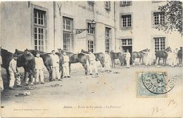 AUTUN : ECOLE DE CAVALERIE-LE PANSAGE - Autun