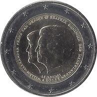 2E211 - PAYS-BAS - 2 Euros Commémorative - Reine Béatrix 2013 - Pays-Bas