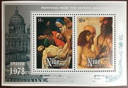 Niue 1978 Easter Minisheet MNH - Niue