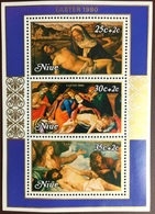 Niue 1980 Easter Minisheet MNH - Niue