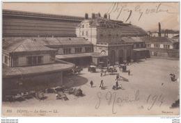 DIJON LA GARE 1914 TBE - Dijon