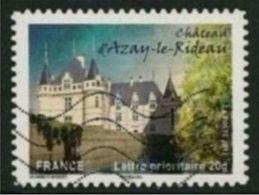 2012 Yt Adh 727 (o) Chateau Azay Le Rideau - Oblitérés