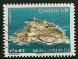 2012 Yt Adh 722 (o) Château D'If - Oblitérés