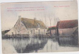 Hamme - Driegoten Overstroming 1906 (gekleurde En Gelopen Kaart Met Zegel) - Hamme