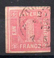 BAVIERE - BAYERN - YT N° 4 - Cote: 30,00 € - Beieren