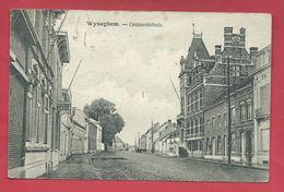 Wijnegem - Gemeentehuis - 1920 ( Verso Zien ) - Wijnegem