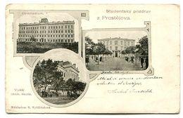 Studentsky Pozdrav Z Prostejova - Czech Republic