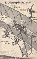 (POUSTHOMIS )L' Aéroplaneur ; MERIEL , MATHIS , Paroles BOUCHAUD  Dit DUFLEUVE , Musique RAOUL GEORGES - Scores & Partitions