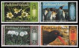 Falkland 2014 - Mi-Nr. 1254-1257 ** - MNH - Fauna & Flora (II) - Falkland Islands