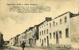 028 149 - CPA - Belgique - Abgebrannte Strasse In Battice - Herve