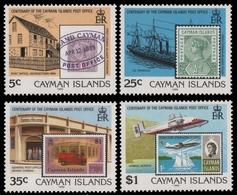 Kaiman-Inseln 1989 - Mi-Nr. 614-617 ** - MNH - Marke Auf Marke - Timbres