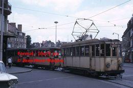 ReproductionPhotographie D'un Tramway Circulant à Valenciennes En 1966 - Reproductions
