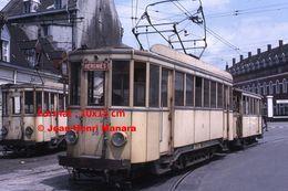 ReproductionPhotographie D'un Tramway N°36 Ligne Hergnies Circulant à Valenciennes En 1966 - Reproductions