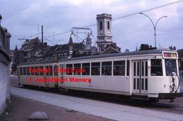 ReproductionPhotographie D'un Tramway SNCV En Circulation à Mons En Belgique En 1966 - Reproductions